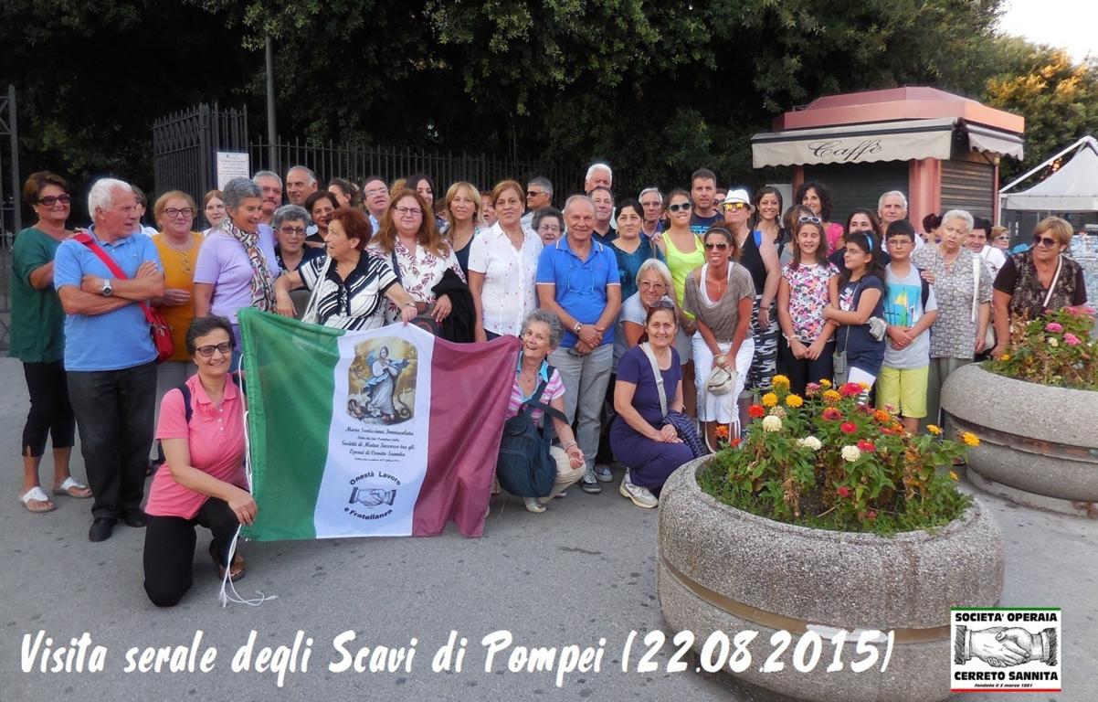Visita serale degli Scavi di Pompei  ESCAPE='HTML'